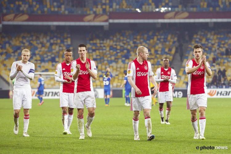 Ajax sneuvelt pas in de verlengingen