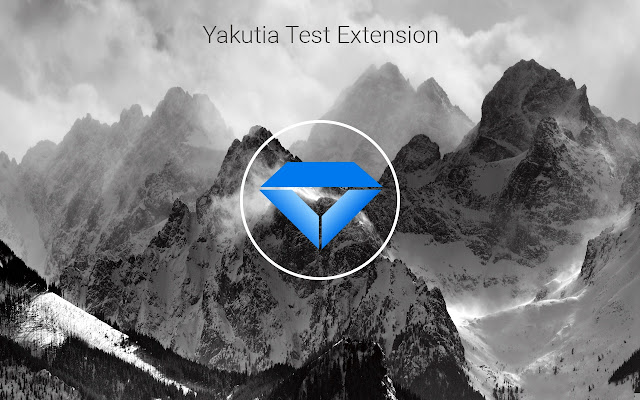 Yakutia. Test Chrome extension for developers