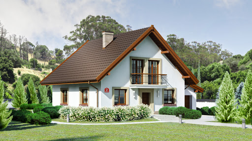 projekt Dom przy Oliwkowej 2