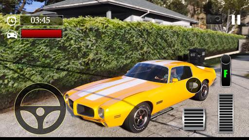 Car Parking Pontiac Firebird Simulator screenshot 1