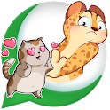 Kittenz: Cat Stickers For whatsapp - WAStickerApps icon