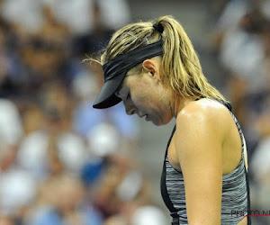 Ook Sharapova moet afdruipen op US Open