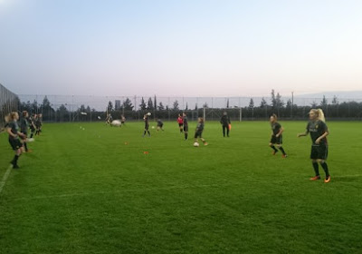 Flames klaar voor Italië, de training in 45 seconden (mét beelden)