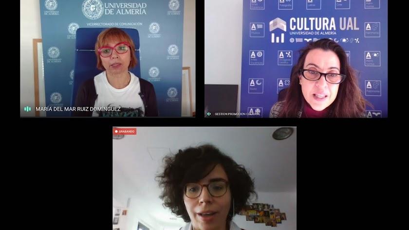 Presentación virtual del ciclo por parte de la Universidad de Almería (UAL).