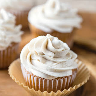 Whipped Cinnamon Buttercream Frosting.