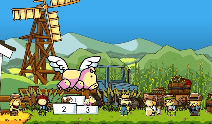 Scribblenauts Unlimited- screenshot