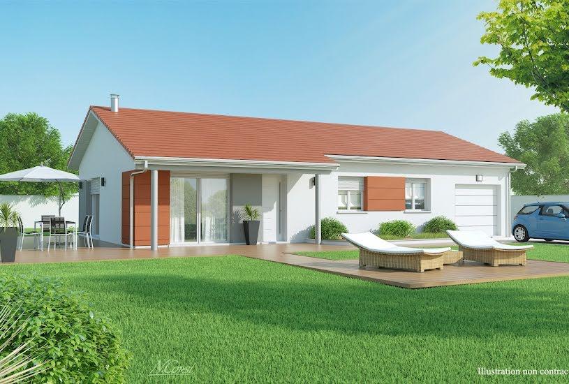 Vente Terrain + Maison - Terrain : 700m² - Maison : 85m² à La Tour-du-Pin (38110)