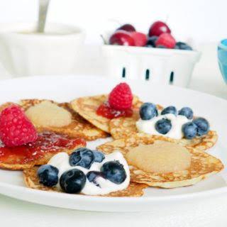 Whole Grain Swedish Pancakes.