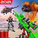 Survival Battleground Free Fps shooting games 2021 icon