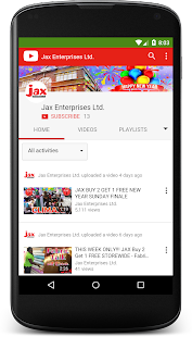 Jax Enterprises Ltd.- screenshot thumbnail