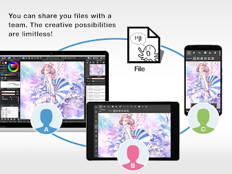 MediBang Paint - Make Art ! APK screenshot thumbnail 5