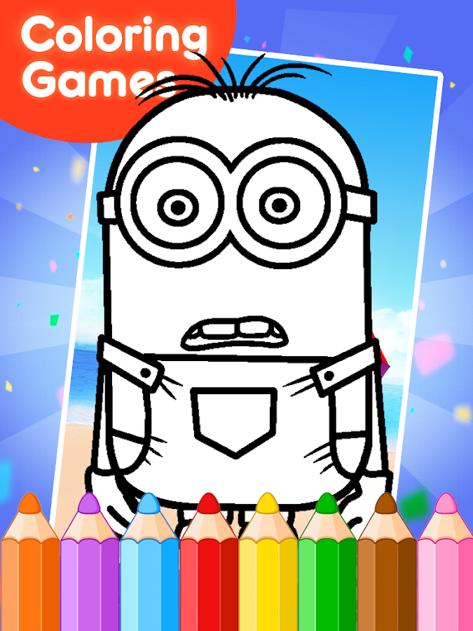 Coloring Games for Minioner - Android Apps on Google Play