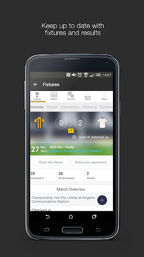 Fan App for Derby County FC