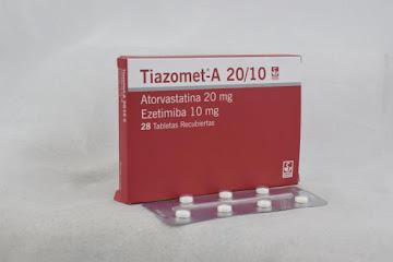 Solo Online Tiazomet A 20 Mg/10 Mg   Tab/Comp x 28 Und