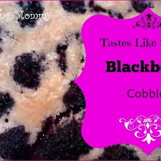 Tastes Like Spring Blackberry Cobbler