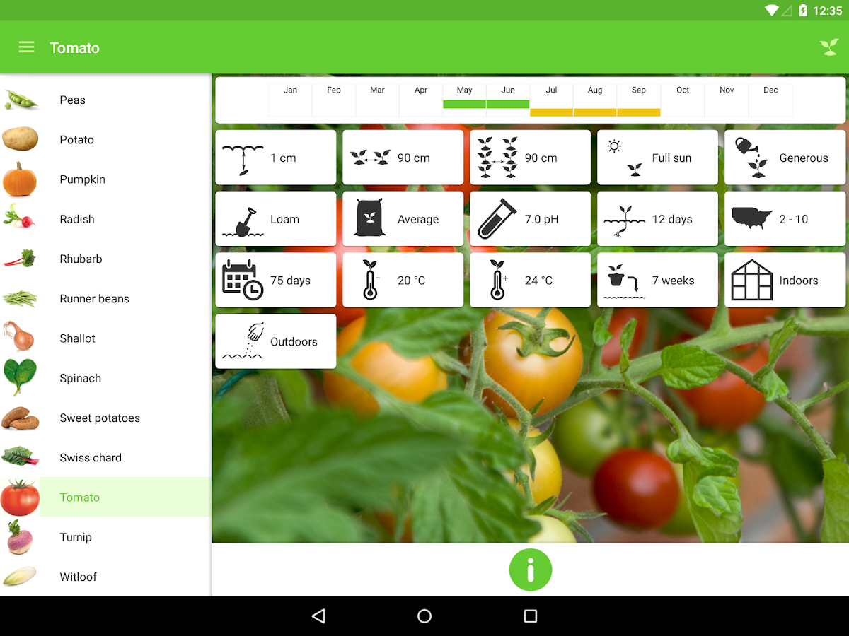 gardroid vegetable garden android apps on google play