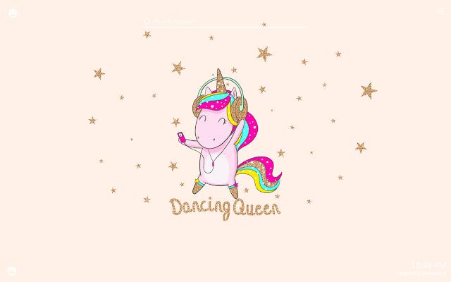 Funny Unicorns HD Wallpapers New Tab Theme