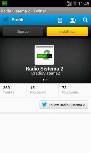 Radio Sistema 2 screenshot 4