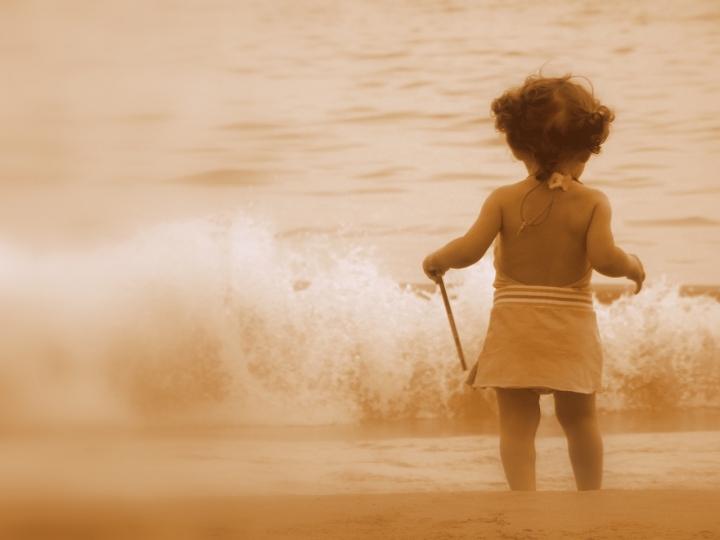 La bambina e il mare di ercolebs
