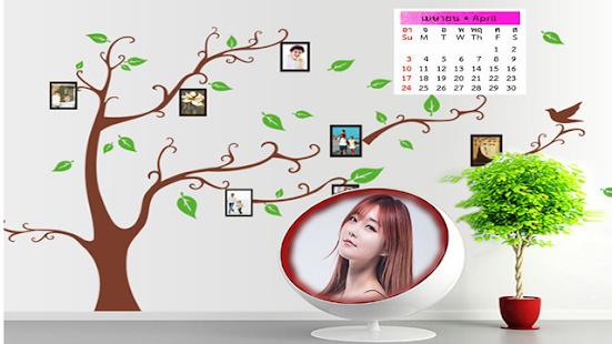2016 Calendar photo frames screenshot