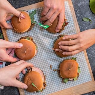 Pork Sliders with Bacon-Onion Jam