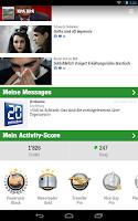 Screenshot of 20 Minuten (CH)