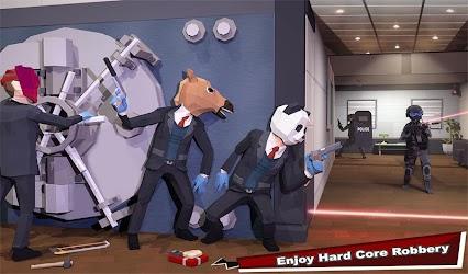 Bank Robbery Crime LA Police