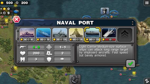 Glory of Generals :Pacific HD 1.3.6 screenshots 2
