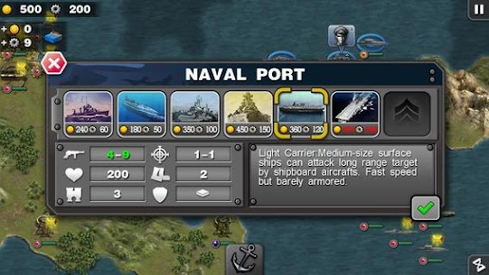 Glory of Generals :Pacific HD Apk Download For Android and Iphone 2