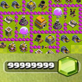 Gem Cheats in Clash of Clans APK for Bluestacks