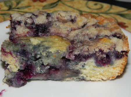 Nana's Blueberry Buckle Recipe