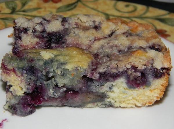 Nana's Blueberry Buckle Recipe