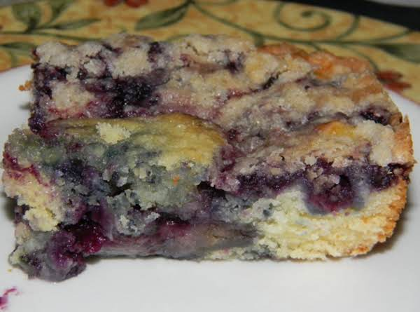 Nana's Blueberry Buckle