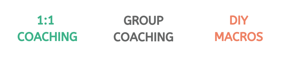 Macro coaching options