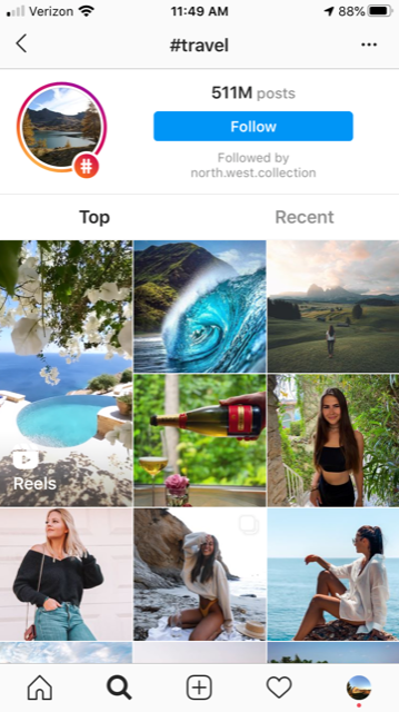 travel influencer for instagram