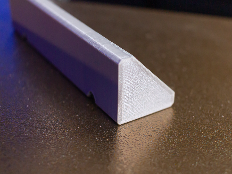 When you want to hide the fact that something was 3D printed, LayerLock Powder Coated PEI is a quick solution for excellent adhesive properties with a unique surface texture.
