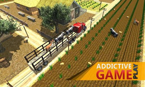 農場動物運輸司機