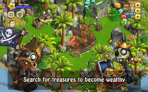 Zombie Castaways 4.12.1 MOD APK (Unlimited Money) 2