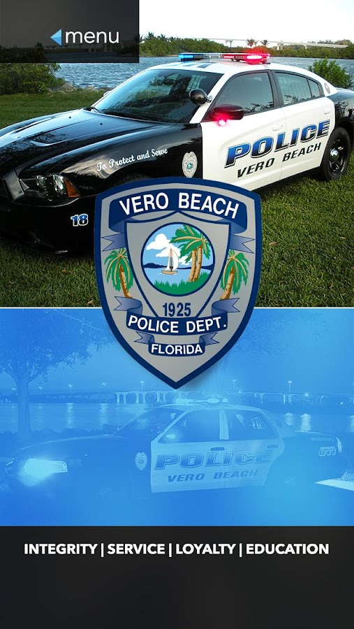 Vero Beach Police Department- screenshot