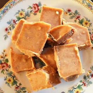 Freezer Maple Almond Fudge.
