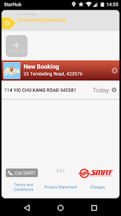 SMRT Book a Taxi- screenshot thumbnail