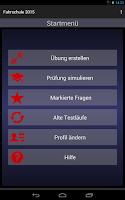 Screenshot of Fahrschule 2015