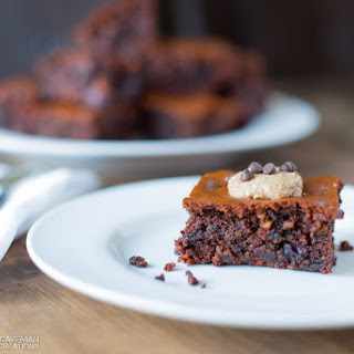 Almond Butter Blueberry Brownies