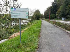 Photo: Sur la vélovoie, à la sortie de Montbéliard