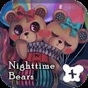 Cute wallpaper-Nighttime Bears icon