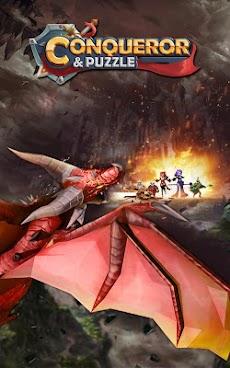 Conqueror & Puzzles : マッチ3 RPGゲームのおすすめ画像1