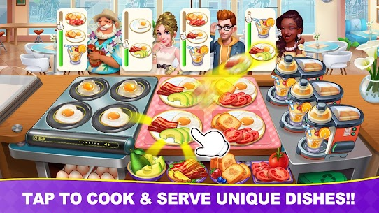 Cooking Frenzy: Madness Crazy Chef Cooking Games Mod Apk Download For and Iphone 1