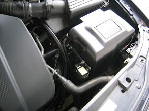 Photo: Steuergerät der Gasanlage