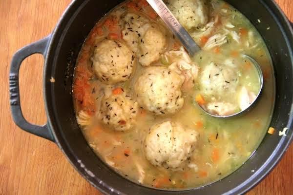Hometown Chicken & Dumplings Recipe