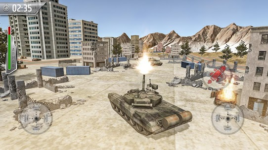 Tank Fighting War Games: Army Shooting Games 2020 3